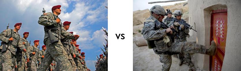 Garrison vs Field