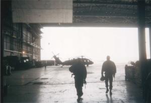 QRF hangar