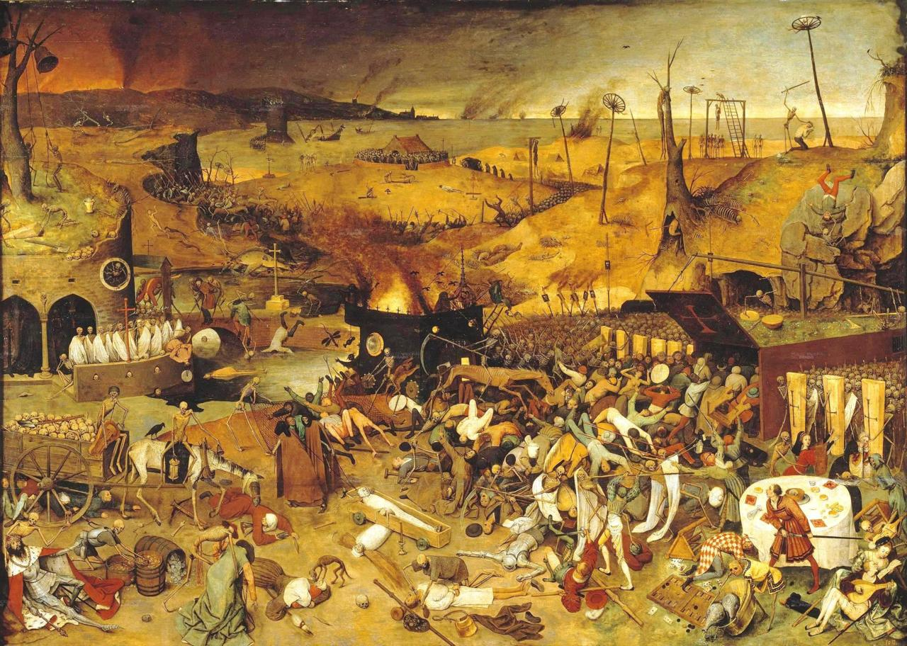 Triumph of Death (1562) Pieter Bruegel