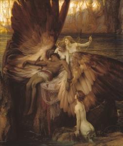 The Lament for Icarus (Herbert James Draper, 1898)