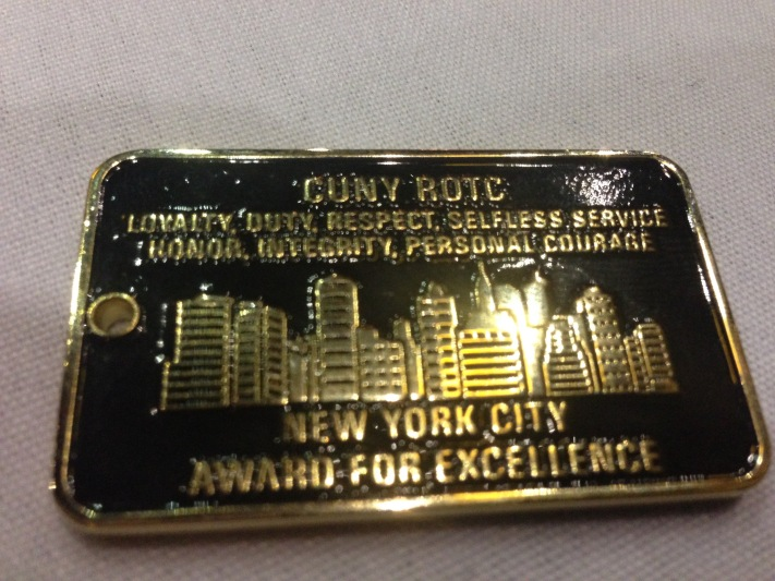CUNY ROTC Coin